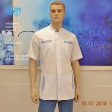 М-287 Куртка белая, мужская