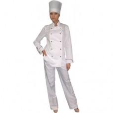 М-33 Куртка поварская, женская