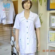 М-553 Куртка белая, женская