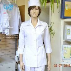 М-622 Куртка белая, женская
